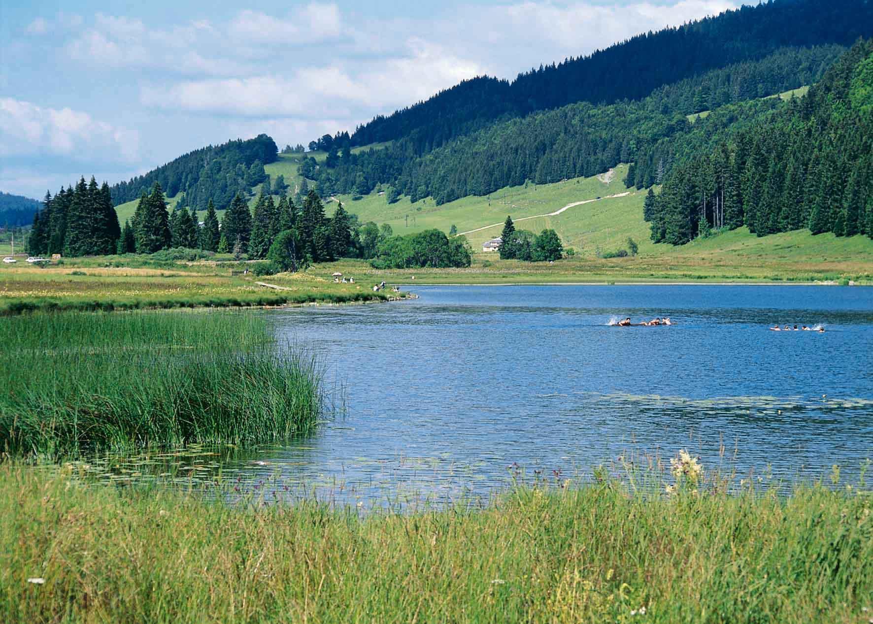 Camping jura franche comt location de vacances chalet for Piscine les rousses